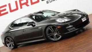 "22"" Porsche Panamera Turbo Style Wheels GTS 4 s II Gunmetal Tires Package Sport"