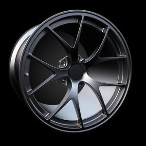 "18"" BBs F1 Style Rims Audi A4 A8 A6 Q5 VW Tiguan Passat Matte Black 5x112 Wheels"