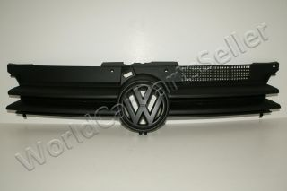 VW Golf IV MK4 1999 2004 Front Central Grill Grille with Black Badge