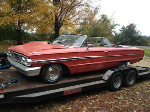 1964 Ford Galaxie Convertible Parts or Project