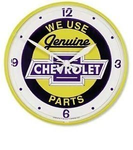 Chevrolet Parts Camaro Chevelle Nova Impala Caprice Silverado Wall Clock