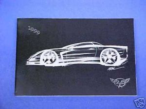 1999 Original Corvette Vette Owners Manual Service Guide Book 99 Glove Box