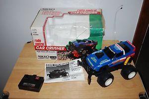 Nikko Corvette Car Crusher Remote Control Car 1 20 Scale Selling for Parts