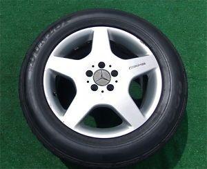 4 Genuine Factory AMG Mercedes Benz ML55 Wheels Tires ML430 ML320 ml M Class