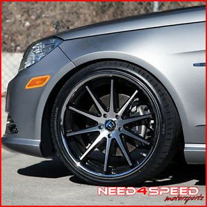 "20"" Mercedes Benz R129 SL500 SL600 SL Rohana RC10 Concave Machined Wheels Rims"