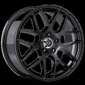 "18"" Ruff Racing R356 Rims Wheels 5x112 Mercedes Benz Audi VW Crossfire"