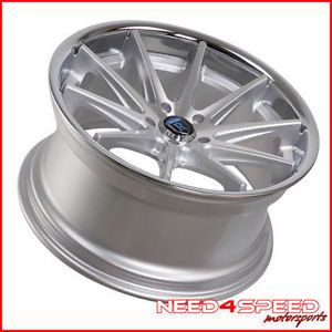 """19"""" Rohana RC10 Silver Fits Mercedes Benz CLA250 Staggered Concave Wheels Rims"""