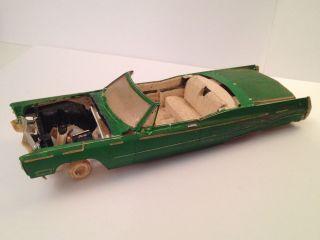 Jo Han 1 25 '68 Cadillac Convertible Junker Parts Diorama Circa 1968