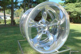 "VN425 18x12"" American Racing Torq Thrust Wheel Chevy Buick Olds Pontiac"