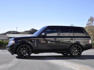 Range Rover Black >> 22 Black Stormer Wheels Rims Fit Range Rover Land Rover ...