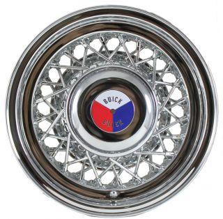 Buick Wire Wheel Hubcaps Hub Caps Wheel Center Caps Buick Emblems Medallions