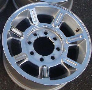 """17"""" 04 05 06 07 Hummer H2 Chrome Alloy Wheel Rim"""