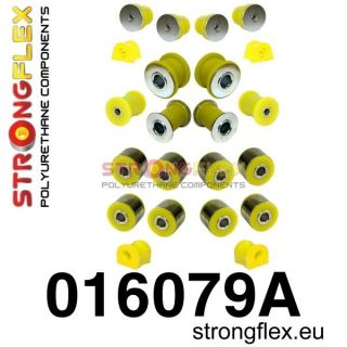 Alfa Romeo 147 156 Front and Rear Suspension Polyurethane Kit Sport Strongflex
