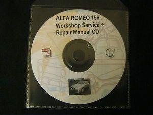 Alfa Romeo 156 Workshop Service Repair Manual on CD