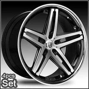 22inch Lexani R Five for Mercedes Benz Wheels C CL s E S550 ml Rims