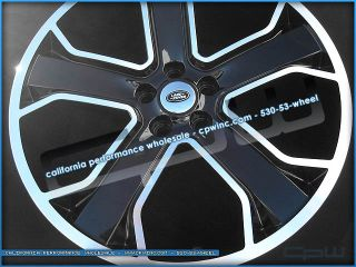 """22"""" inch Land Range Rover HSE Sport Supercharged Wheels Rims New Black Machined"""