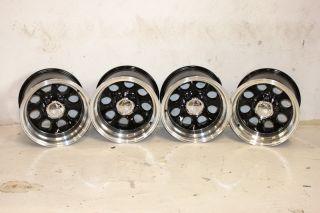 4 Black ion Alloy 171 Wheels 15x10 5x5 5 76 86 Jeep CJ CJ 7 CJ 5 CJ 8
