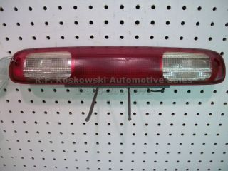 Chevy GMC Pickup Truck Rear High Mount Stop Lamp Light Assembly Third Brake