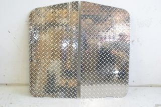 Warrior Diamond Plate Door Panels 76 95 Jeep Wrangler CJ 7 YJ