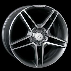 """18"""" AMG Style Staggered Wheels 5x112 Rim Fits Mercedes Benz C Class 230 280 350"""
