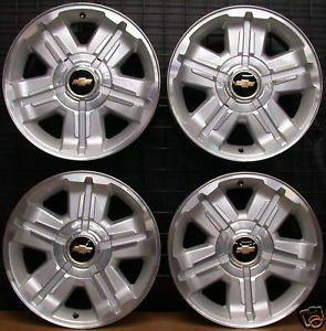 "2012 Chevy Silverado Suburban Tahoe Avalanche Z71 Z 71 18"" Factory Wheels Rims"
