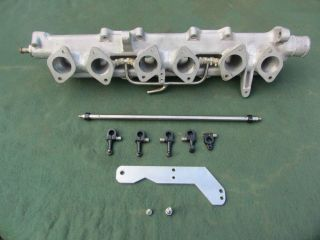 Alfa Romeo 2600 Weber Dellorto Inlet Manifold and Accessories