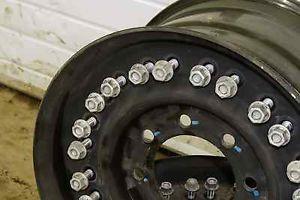 24 Bolt 16 5 x 8 25 2 Piece GM 8 Lug Military HMMWV Hummer H1 Steel Wheel Rim