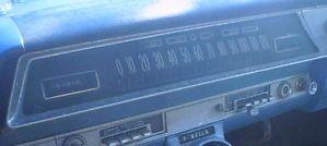 1962 Oldsmobile Speedometer and Gauges Cluster