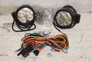 Hella Micro 70 LED Driving Light Kit Jeep Wrangler YJ TJ JK CJ