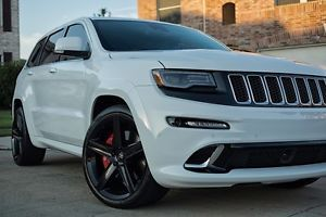 22x9 Jeep Cherokee Wrangler SRT8 Commander Durango Gloss Black Wheels Rims Tires