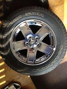 Jeep Stock Wheels Chrome 05 09 Grand Cherokee Wrangler