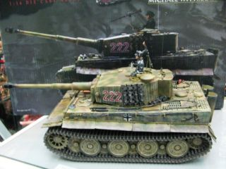 WOW Extremely RARE Tiger I Tank Wittmann Villers Bocage BNIB 1 16 Force of Valor