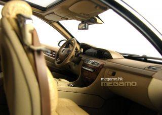 1 18 Autoart Mercedes Benz CL63 CL 63 AMG Silver 76168