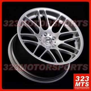 "19"" Velocity VMR V703 Hyper Silver Wheels Rims Audi BMW Jaguar Land Rover"