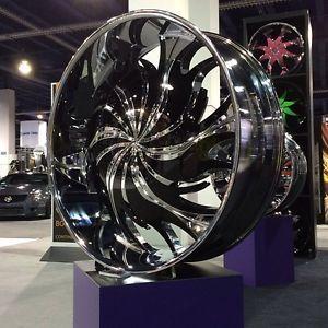 """26"""" Wheels Tires Rims Rocknstarr 565 C Mitsubishi Nissan Saab Saturn Toyota VW"""