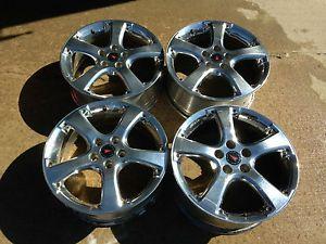 4 Pontiac Grand Prix GXP Factory 18 Wheels Rims Polished Forged Alcoa