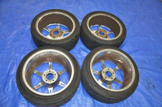 Kosei Racing K1 Buddy Club P1 Wheels 17x8 17x9 17 JDM s13 s14 Work Volk Weds