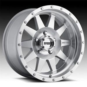 20 inch 20x10 Method Race MR301 The Standard Machine Wheels Rims 8x170 24