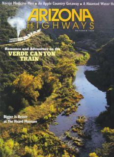 1999 October Arizona Highways Navajo Medicine Man