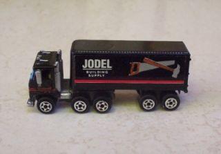 Semi Truck Cab N Trailer Jodel Building Micro Machines