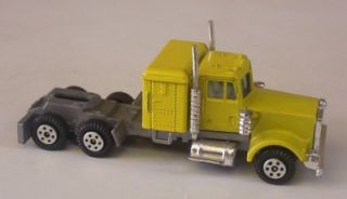 Kenworth Semi Truck Cab Only Yatming 1 Hong Kong Vtg Toy Yellow