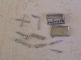 Tools Lot Metal R D Unique Model Car Garage Diorama 1 24 Accessory Parts