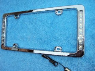 License Plate Brake Light Frame LED Third Brake Hot Rod Street Rat Rod Car Truck