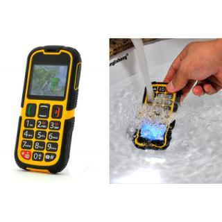 New Senior Citizen Phone Rugged SOS Quad Band GSM Bluetooth