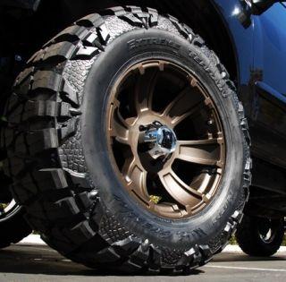 XD Revolver 17 x 9 Bronze Chevy Ford Dodge Wheels