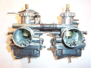 75 76 77 Suzuki GT185 185 Carburetor Set Cleaned