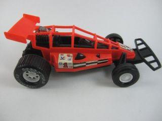 Plastic Race Car Toy Vintage