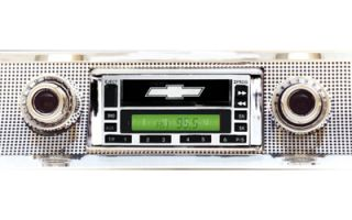 1957 Chevy Car Radio with Cassette Player Stereo Classic Look