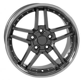 """17"""" Rims Fit Camaro Corvette C6 Z06 Wheels Set"""