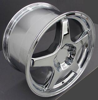 17 ZR1 Chrome Wheel Rim Fits Corvette Trans Am Firebird SS Camaro Z28
